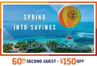 spring into savings with royal caribbean